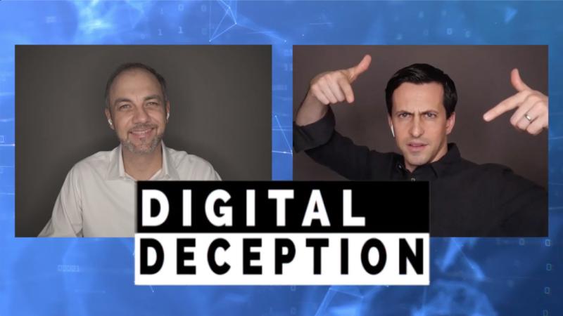 Virtual Magic Show with Digital Deception